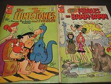 THE FLINSTONES & PEBBLES AND PEBBLES & BAMM-BAMM CHARLTON COMIC BOOKS