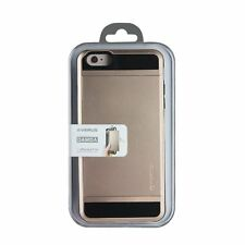 Verus Damda Slide iPhone 6 Case Card Security Slot Storage Dual Layer GOLD