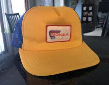 Vintage Honda Snapback Trucker Hat Mesh Patch Cap