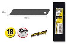 GENUINE OLFA LBB-50 EXCEL BLACK 18mm BLADES 50 PACK