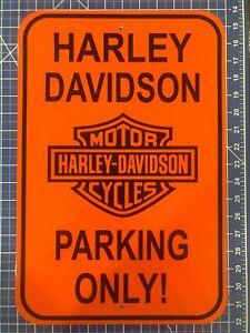 HARLEY DAVIDSON PARKING ONLY