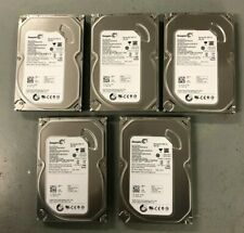 5 x 250 GB 7200RPM SATA Desktop 3.5 Inch Hard Drive/Tested/Formatted/Major Brand