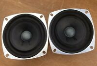 Sweet Pair (2) Speakers Radio Shack Realistic 40-1197 Fostex FE-103
