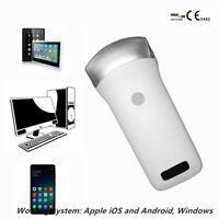 Portable WIFI Wireless Clear Ultrasound Scanner 3.5Mhz Convex Array Probe FDA CE