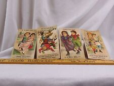 Lot of 4 R.W Bell Mfg. Co French Villa Soap Confectionery Tobacco Cigars F43
