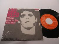 "LOU REED Vicious WALK ON THE WILD SIDE 7""  Vinyl: very good /  Cover:mint-"