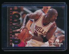 MICHAEL JORDAN 1995-96 FLEER TOTAL D #3 *CHICAGO BULLS*