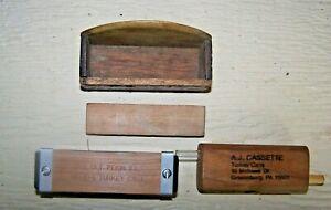 Turkey Call Lot.(A.J.Cassette,Greensburg,Pa )P.S.OLT,Pekin,Ill )One Home Made