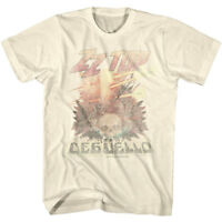 OFFICIAL ZZ Top Deguello Faded Album Cover Men's T-shirt Rock Band Merch
