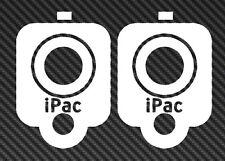 2x iPAC GLOCK M4 AR15 Vinyl Sticker Decal Car Window ak 47 freedom