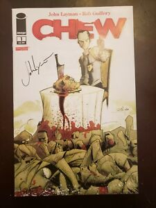 Chew #1 1st Print Signed by John Layman