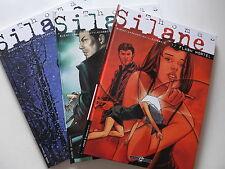 Thomas  Silane / coffret avec tomes1,2 & 3 + ex libris