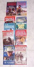 10 WILLIAM W. JOHNSTONE WESTERN PAPERBACKS