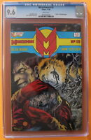 MIRACLEMAN 15 DEATH issue 1988 Eclipse ALAN MOORE Totleben Low Print CGC NM+ 9.6