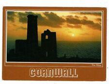 CORNISH TIN MINING POST CARD TITLED TIN MINE CORNWALL