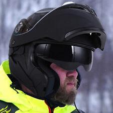 Dot Flip up Modular Full Face Motorcycle Helmet Dual Visor Racing Motocross Atv