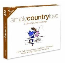 SIMPLY COUNTRY LOVE (2CD) 2 CD NEU