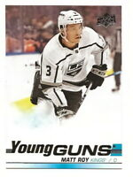 2019-20 UPPER DECK SERIES 1 MATT ROY YOUNG GUNS ROOKIE CARD #235 (LA KINGS)