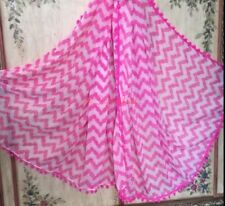 Pink Belladonna Pom Pom Scarf Lilly Pulitzer Target Pineapples Cover Up XL