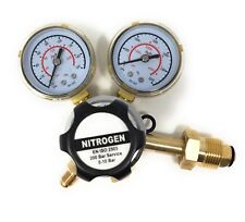 Nitrogen Regulator 3000 PSI - CGA580 Inlet and 1/4-Inch Male Outlet Gas HVAC