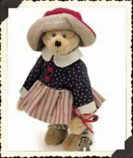"Boyds Bears ""Betsie B. Jodibear"" 9"" Artisan Plush Bear #92000-07 - Nwt- Retired"