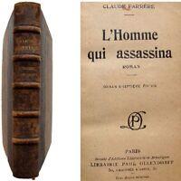 L'homme qui assassina sd Claude Farrère Ollendorff roman