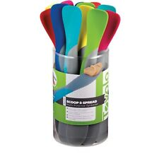 Tovolo Scoop & Spread Multi Purpose Spreader Spatula Assorted Colors 1 Piece