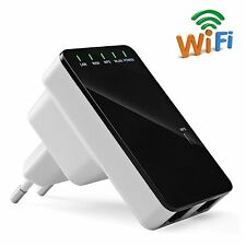 300Mbps Wireless Wifi Bridge Repeater Extender Booster +Router +WPS Access Point