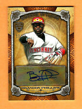 BRANDON PHILLIPS Reds 2013 Topps Supreme Stylings AUTOGRAPH NrMt+ Comb S&H #/15