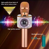 Wireless Bluetooth Karaoke Microphone,3-in-1 Portable Handheld Mic Speaker