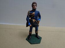 Stadden, Napoleonic French officer holding hat,  painted, lead 54mm, WA