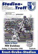 RL 1998/99 1. FC Magdeburg - FSV Zwickau, 11.12.1998