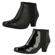 Clarks Mid Heel (1.5-3 in.) Ankle Boots for Women