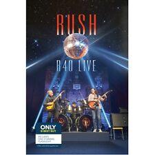 Rush R40 Live 3 cds 1 dvd plus Starman projection flashlight!! best buy