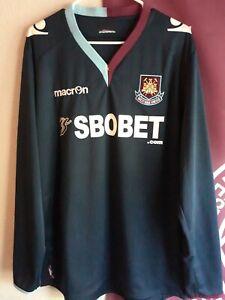 West Ham United 2012-13 Away shirt Long Sleeve