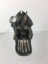 The Master Wizard Pewter Figure Crystal Ball Ray Lamb Tudor Myth & Magic Euc