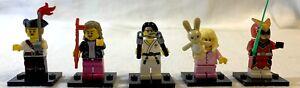 5-Count Lego Mini-Figures Series 20