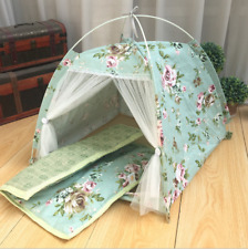 Pet Puppy Portable Foldable House Dogs Cat Sleeping Tent Indoor Outdoor Teepee