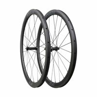 ICAN FL40 Carbon Fiber Clincher Tubeless Ready Road Bike Wheelset 700C in the US