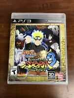Naruto Shippuden: Ultimate Ninja Storm 3 Full Burst PS3 Brand New Factory Sealed
