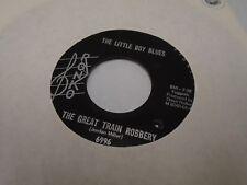 The Little Boy Blues Great Train Robbery 45 rpm Ronko VG+ rare garage punk