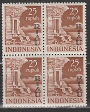 Indonesie Indonesia Riau nr 22 MNH sheet 1954