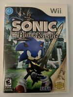 Sonic and the Black Knight (Nintendo Wii 2009) Complete CIB - FREE SHIPPING