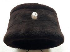 Russian Don Cossacks Papakha (папаха) size 57,58,59 REAL SHEEP FUR! dark brown