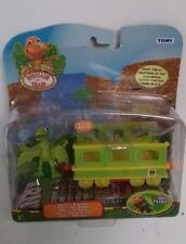 JIM HENSON - Dinosaur Train Tiny With Train Car My Best Friends TOMY New Sealed