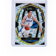 2018-19 Panini Select Premier #156 Landry Shamet Scope Prizm Parallel RC 76ers B