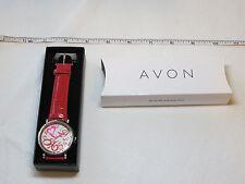 Ladies Womens Avon Crazy Love Watch fashion heart F3708081 NIP;;