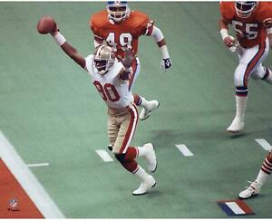 Jerry Rice Francisco 49ers Unsigned Super Bowl XXIV Touchdown Photograph