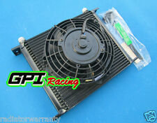 "30 ROW OIL COOLER 7"" ELECTRIC FAN JZA80/MA70/MR2/JZX90/CELICA GT4/HZJ/HDJ/FJ/BJ"