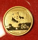 2014 CHINESE GOLD PANDA 1/10 oz .999% BU GREAT COLLECTOR COIN GIFT